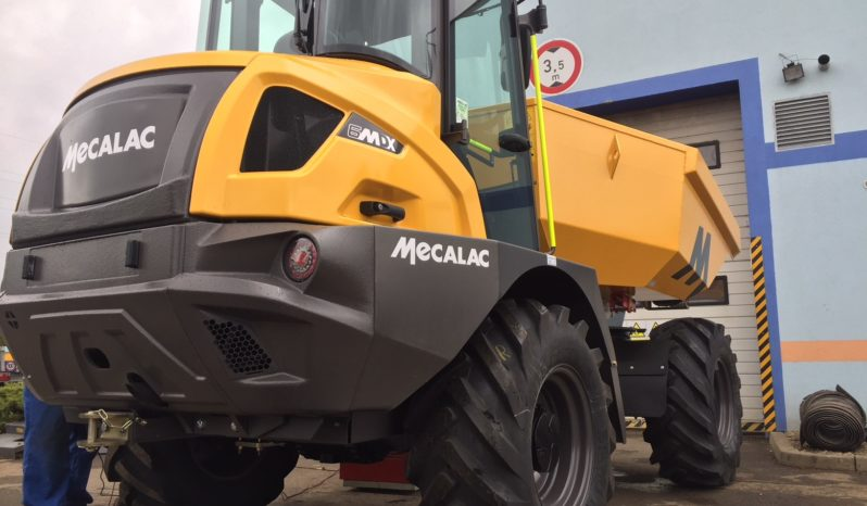 MECALAC 6MDX – Kabinový staveništní dumper full
